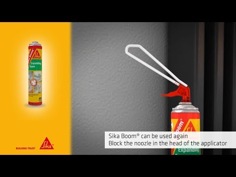How to:  Sika Boom® S
