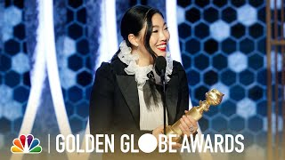 Awkwafina Wins Best Actress in a Musical or Comedy: 2020 Golden Globes