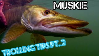 Musky Trolling TIPS - Speed - Drag - When & Where!?!?