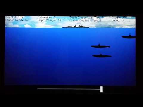 Video of Submarine Destroyer