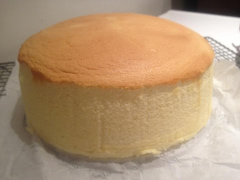Video How to make Japanese Cotton Cheese Cake Recipe - 日式芝士蛋糕