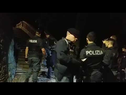 SANREMO, PATTUGLIONE ANTIDROGA DELLA POLIZIA ALLA PIGNA