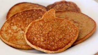 High Protein Pumpkin Pancakes - Clean & Delicious®