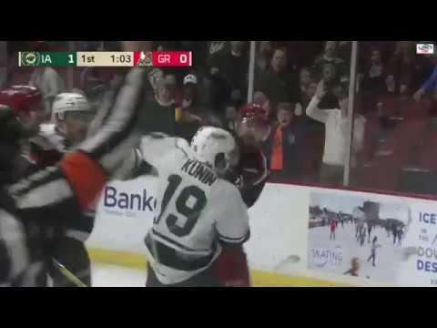 Luke Kunin vs. Dylan McIlrath
