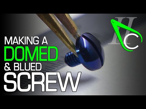 How This Beautiful Blue Screw Was Made