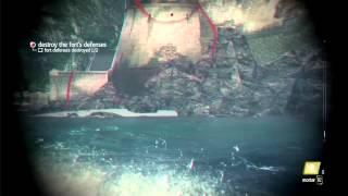 GamesCom Demo: Naval & Fort Commented Walkthrough | Assassin's Creed 4 Black Flag [SCAN]