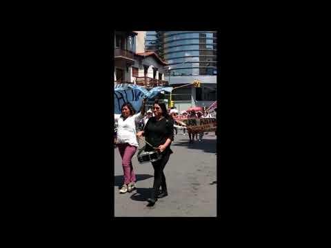 Video: Docentes autoconvocados marchan por el centro de la capital Salta