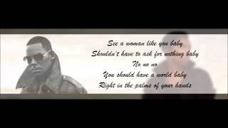 Jennifer Hudson ft. R.Kelly - It's Your World Lyrics HD