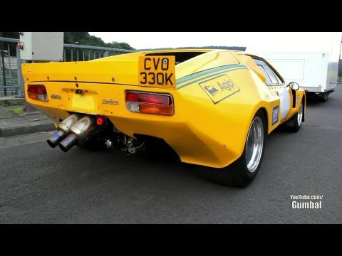 De Tomaso Pantera Race Car with Amazing Sound!