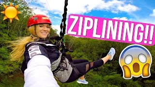 ZIPLINING IN HAWAII!!! AlishaMarieVlogs by Alisha Marie Vlogs
