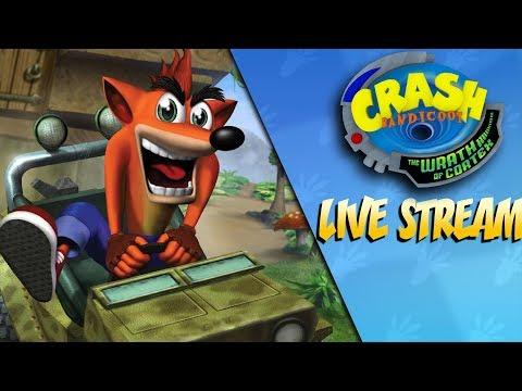 The Wrath Begins - Crash Bandicoot Wrath of Cortex LIVE STREAM + CTR After