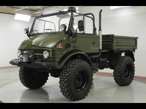 Video of '79 Unimog - QW4Y