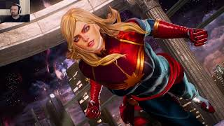 Marvel Vs. Capcom Launch Mp Pt69 - Trying Nemesis! Vs. Captain Marvel Rocket