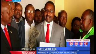 Mwangi Wa Iria cleared by IEBC amidst claims that he is not fit to run office