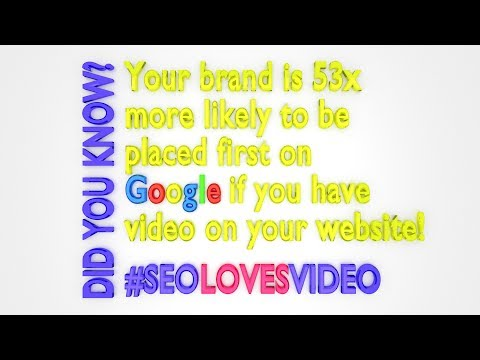 SEO VID INFO - 53x MORE likely to place first on Google