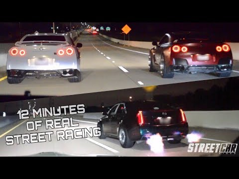 GT-R vs the WORLD + NASTY Flame Throwing CTS-V Lines Up With EVERYTHING!!!