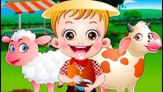 Baby Hazel Farm Tour   Fun Game Videos By Baby Hazel Games
