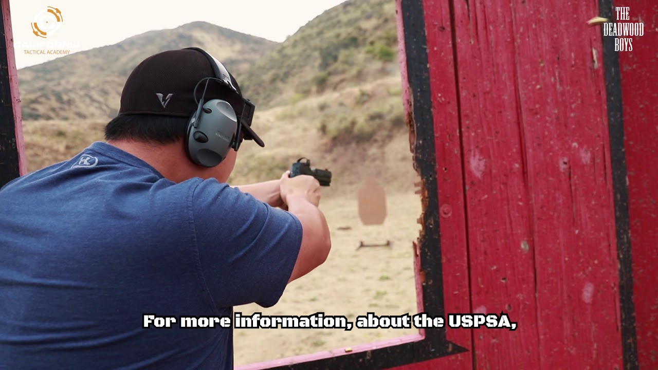 Deadwood Boys USPSA Level 1 Match