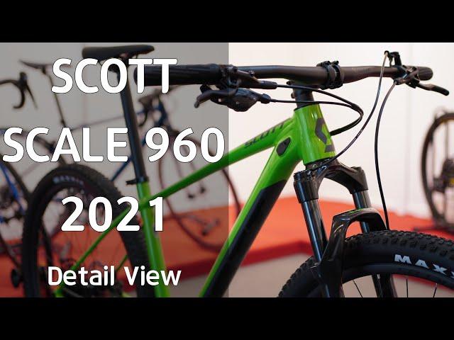 Видео Велосипед Scott Scale 960 Green