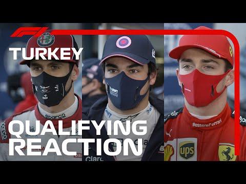 予選を終えたドライバーインタビュー動画!F1 トルコGP
