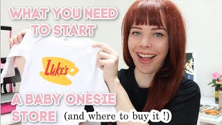 How To Start A Baby Clothing Business On Etsy | Products To Start An Online Store 2020 | Cayce Anne