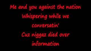 2Pac Never Had A Friend Like Me With Lyrics