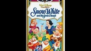 Digitized Opening To Snow White And The Seven Dwarfs (1994 VHS UK)