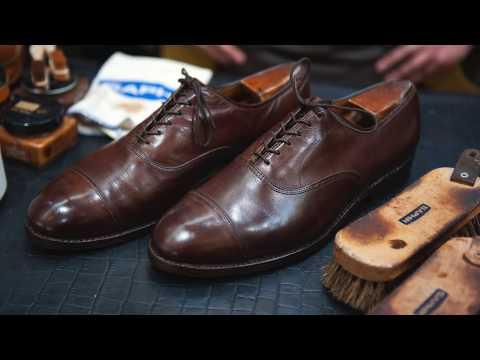 Limpieza y rejuvenecimiento de zapatos