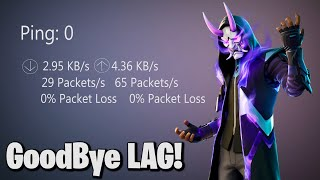 How to Get 0 Ping & 0 Packet loss! (2020 Method)