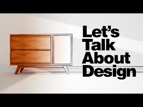 Let's Talk About Design - Angled Legs