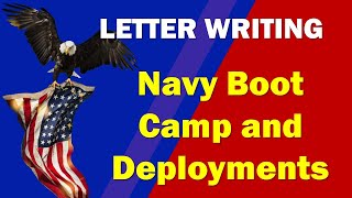 Letter Writing during Navy Boot Camp (Basic Military Training)