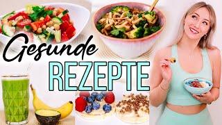 8 GESUNDE & Vegetarische Rezepte! FRÜHSTÜCK bis ABENDBROT - meine Favoriten!