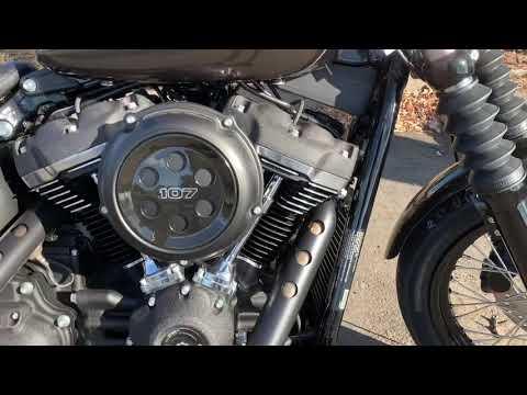 2020 Harley-Davidson Street Bob® in Vacaville, California - Video 1