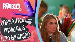 Paula Belmonte: 'Não tem como transformar o Brasil sem ser com a educação'