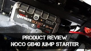 NOCO GB40 Jump Starter - CAN IT START A BIG V8? - Product Review