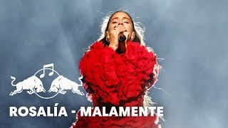 Rosalía - Malamente   Plaza De Colón  Madrid      2018 Red Bull Music