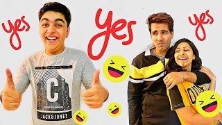 Saying YES to my LITTLE BROTHER for 24 HOURS | Rimorav Vlogs