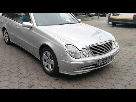 Video Mercedes-Benz E 320 T CDI AHK.ESD.Navi.Leder.Xen.uvm.grüne Pl.