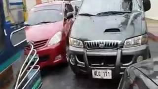 Undisciplined Drivers Counterflow At Pilar Street Mandaluyong City