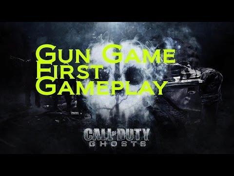 Gun Game First Gameplay CoD Ghosts Live
