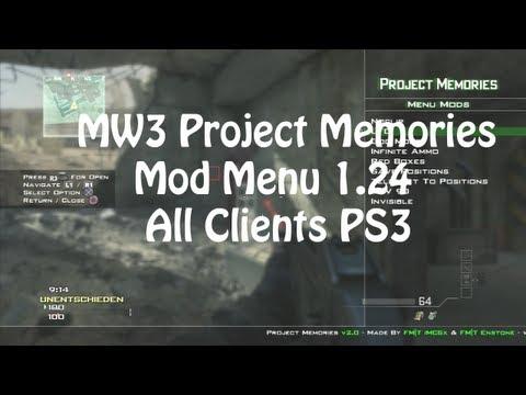 PS3/MW3] Preview Purple HaZe Mod Menu All Clients 1 24