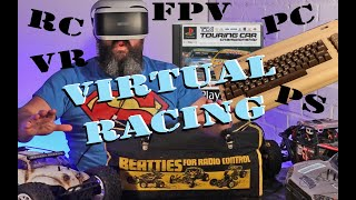 Old Driving simulators, RC cars FPV and VR on Playstation