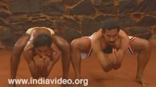 Body exercises in Kalaripayattu