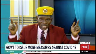 Ministers allegedly picking their relatives from quarantine| One on one with Tamale Mirundi