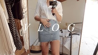 WEEKLY VLOG | THE PERFECT DENIM SKIRT