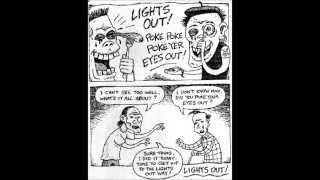 Angry Samoans - Light Out w/ original album comic strip