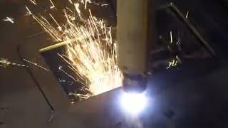 Preiswerter Plasmaschneider / CNC Plasmaschneidemaschinen mit automatischen Höhenausgleich bis 6x3m
