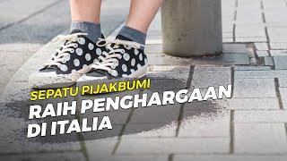 Bikin Bangga, Brand Indonesia Pijakbumi Raih Penghargaan Bergengsi di Italia