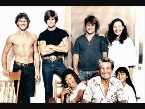 Il giovane Patrick Swayze ★ Foto di Famiglia