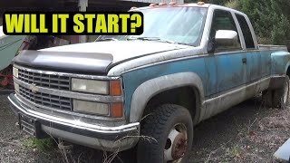 Trying To Start An Old Truck That's Been Sitting 12 Years